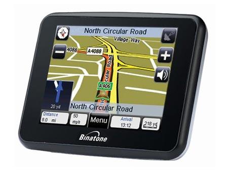 GPS Navigacija Binatone F350