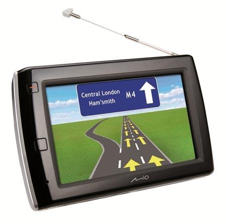 GPS Navigacija Mio Navman V575 TV