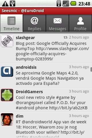 Android market aplikacija
