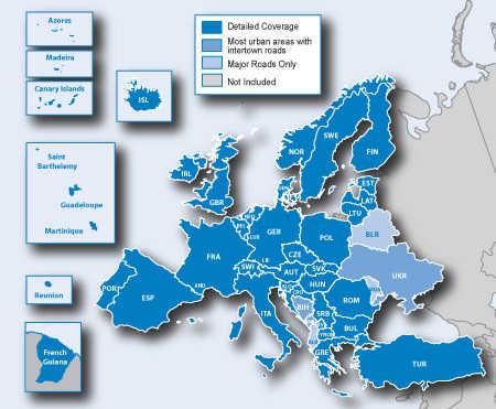 Najnovije gps mape za navigacije
