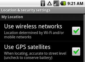 Android Navigacija - AGPS