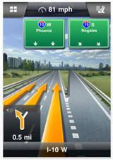 Navigon iPhone Navigacija za Smartfon