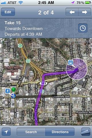 GPS Navigacija Za iPhone - Google Maps