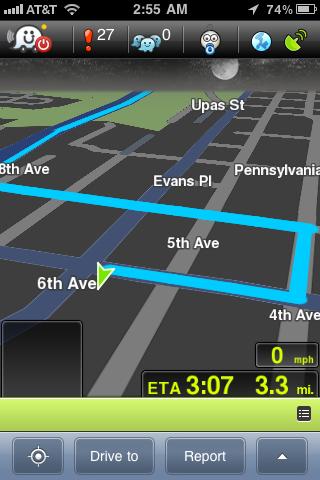 GPS Navigacija za iPhone - Waze