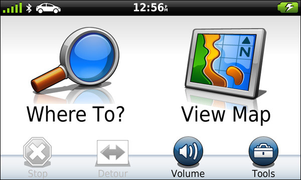 Garmin Nuvi Navigacija 3790 -Početni Ekran