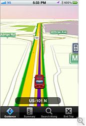 GPS By TeleNav for iPhone - besplatna GPS navigacija za iPhone