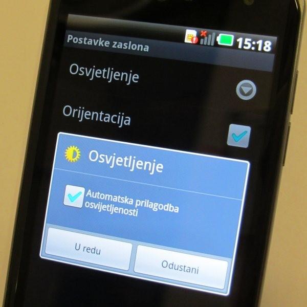 Android telefon i trajanje baterije