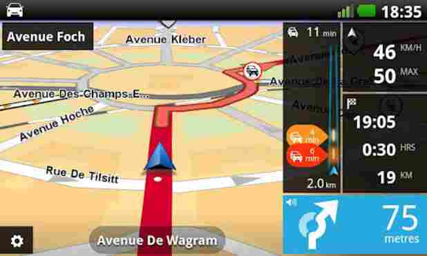 TomTom navigacija za android