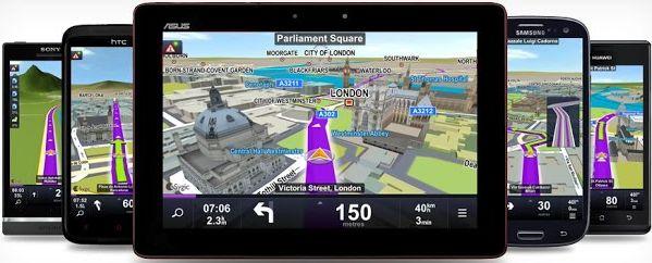 Auto GPS navigacija