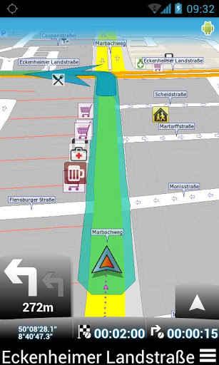 Besplatna Navigacija za Android - Map Factor Free Navigator
