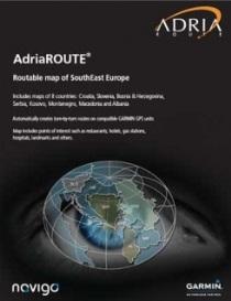 Garmin GPS Mapa Adria Route