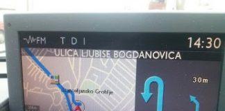 GPS Mapa Srbije za Peugeot i Citroen automobile