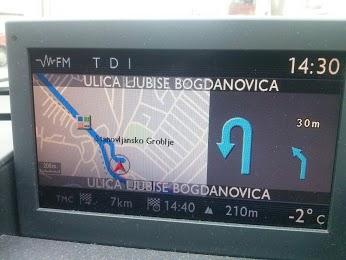 GPS Mapa Srbije za Peugeot i Citroen fabričke navigacije