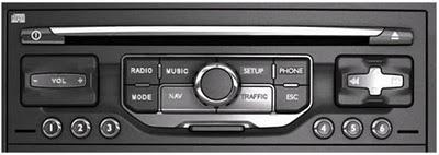 Fabrička auto navigacija MyWay (Citroen) ili WipNav (Peugeot).