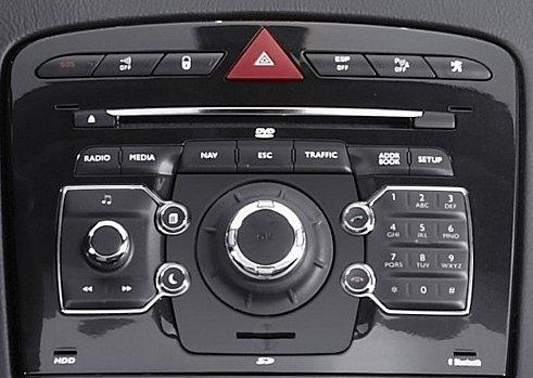 Peugeot fabričke navigacije WIp Com 3D