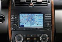 Mercedes Benz navigacije
