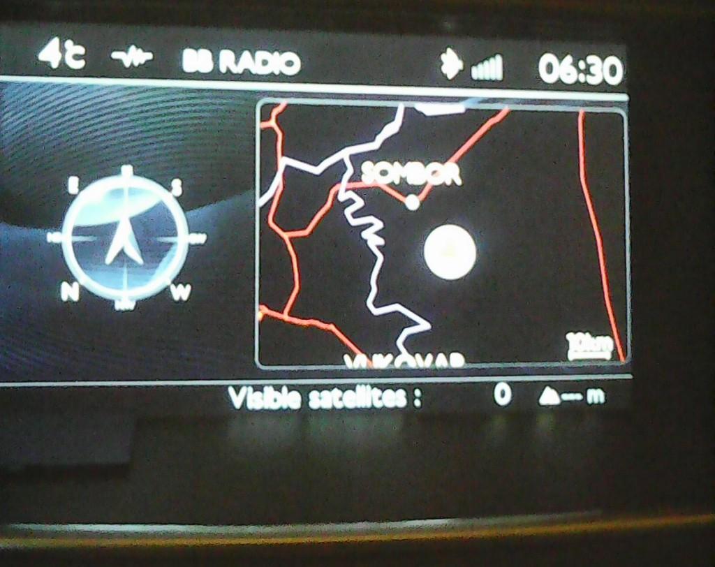 GPS Mapa Srbije za Peugeot WipNav+ fabričke navigacije