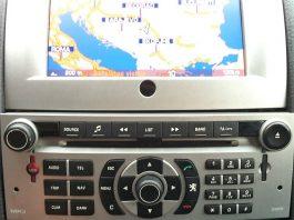 Peugeot navigacija RT4-5