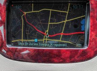 Citroen i Peugeot fabrička navigacija RT3