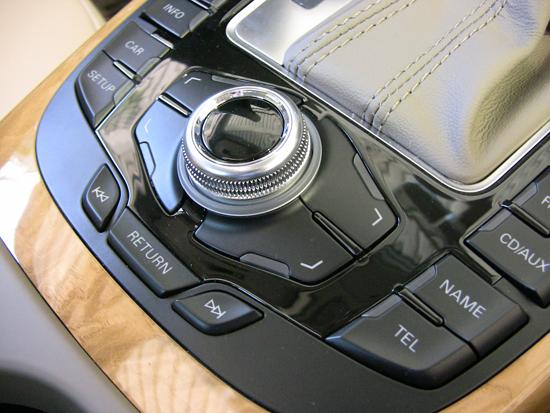 Audi navigacije MMI 2G High