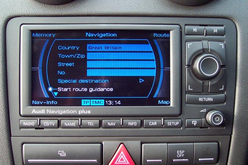 Audi navigacija RNS-E