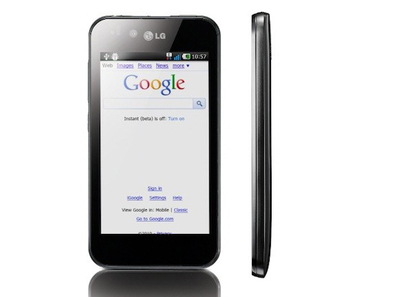 Najbolji android telefon - LG Optimus Black
