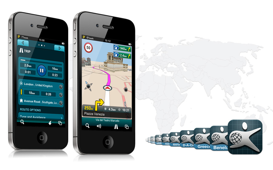 Mireo DONT PANIC navigaciona aplikacija za android