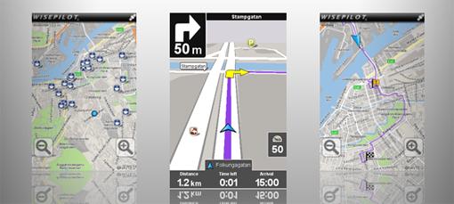 Navigacija za android Wisepilot