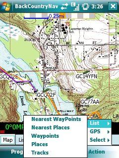 GPS Android Navigacija