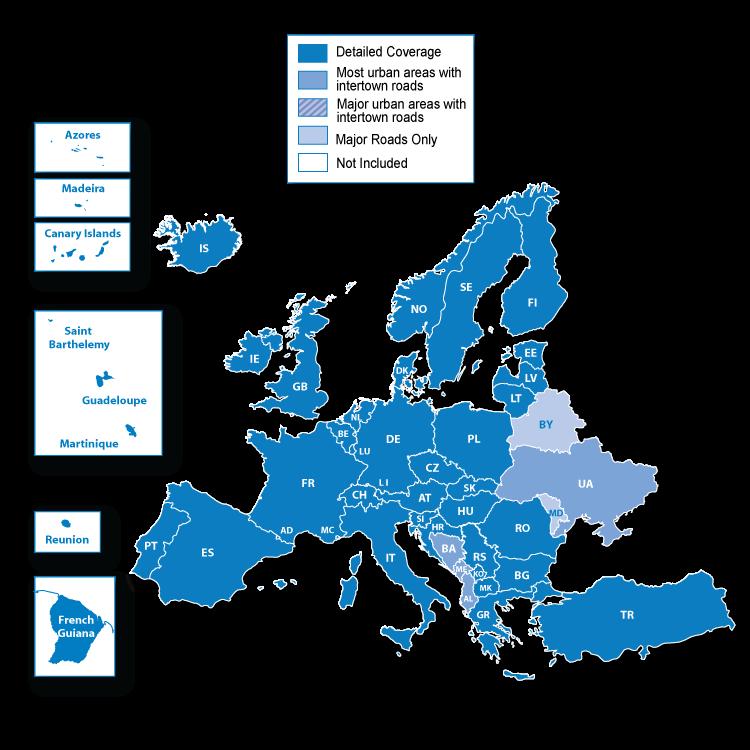 Navigacione Gps Mape Za Garmin Navigacije 2019