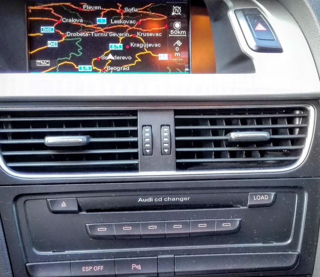 Audi fabričke navigacije MMI 2G