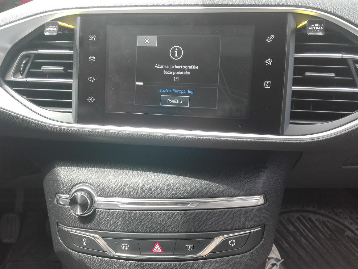 Peugeot fabričke navigacije SMEG