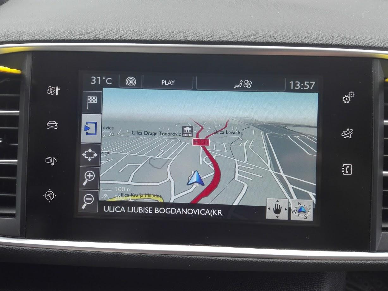 Najnovija Mapa Evrope I Srbije Za Wipnav Peugeot Fabricke Navigacije