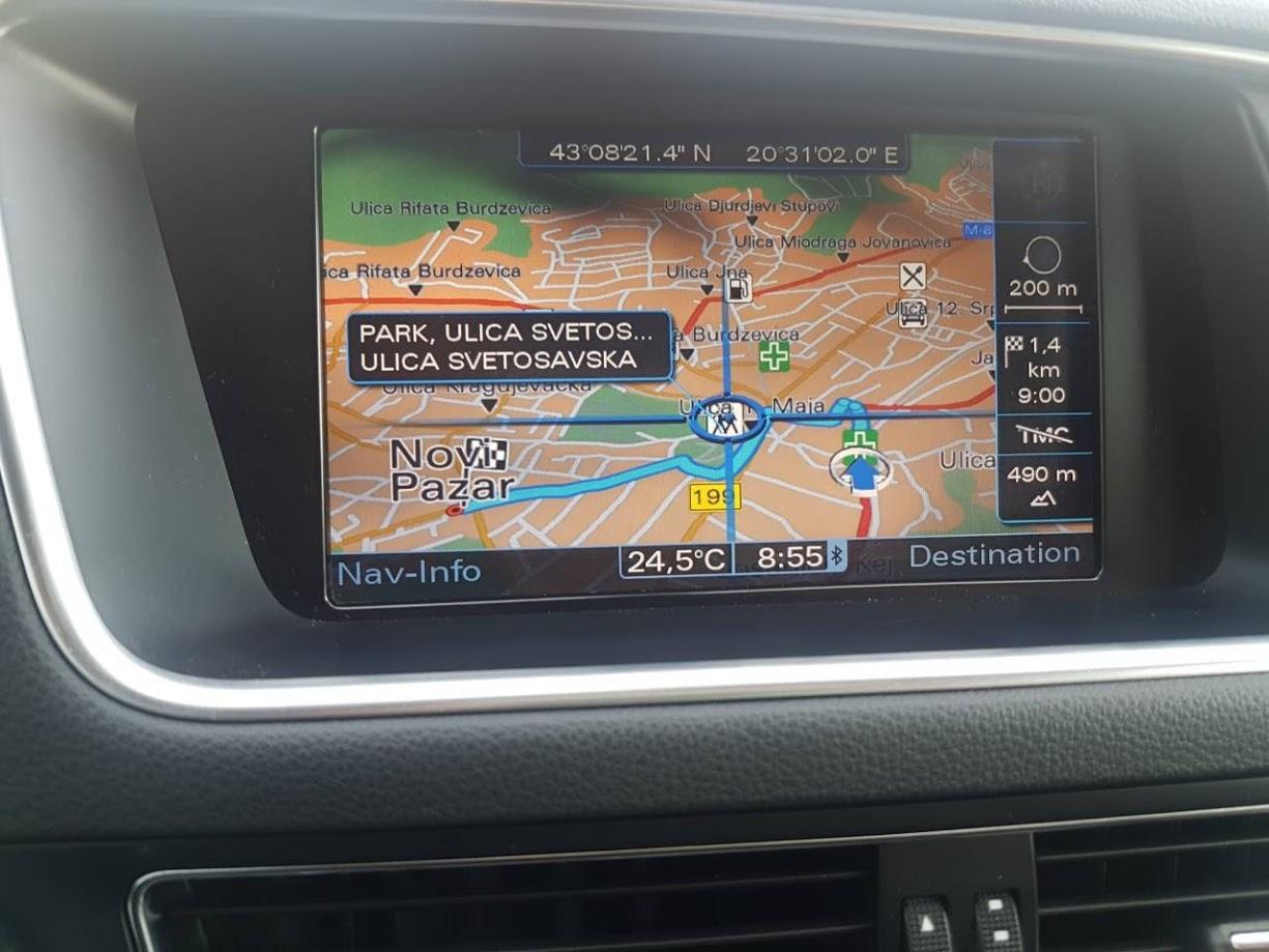 Audi fabričke navigacije