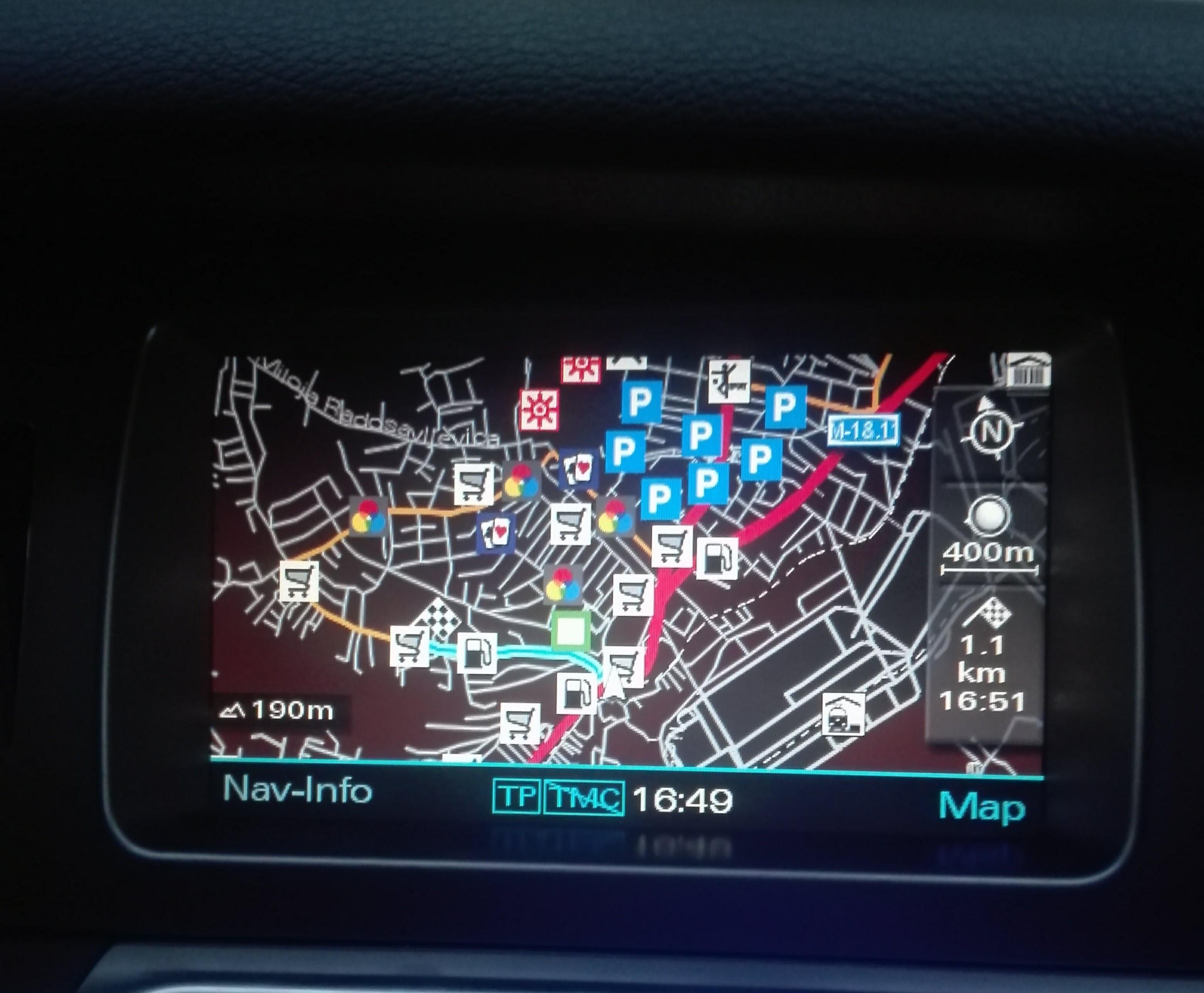 Nova Mapa Evrope I Srbije Za Audi Fabricke Navigacije Mmi 2g Mart 2018