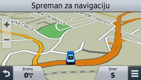 GPS Mapa Srbije