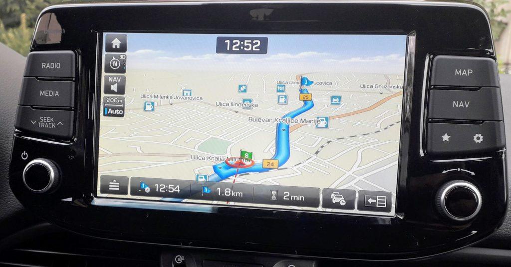 Hyundai fabričke navigacije GEN5